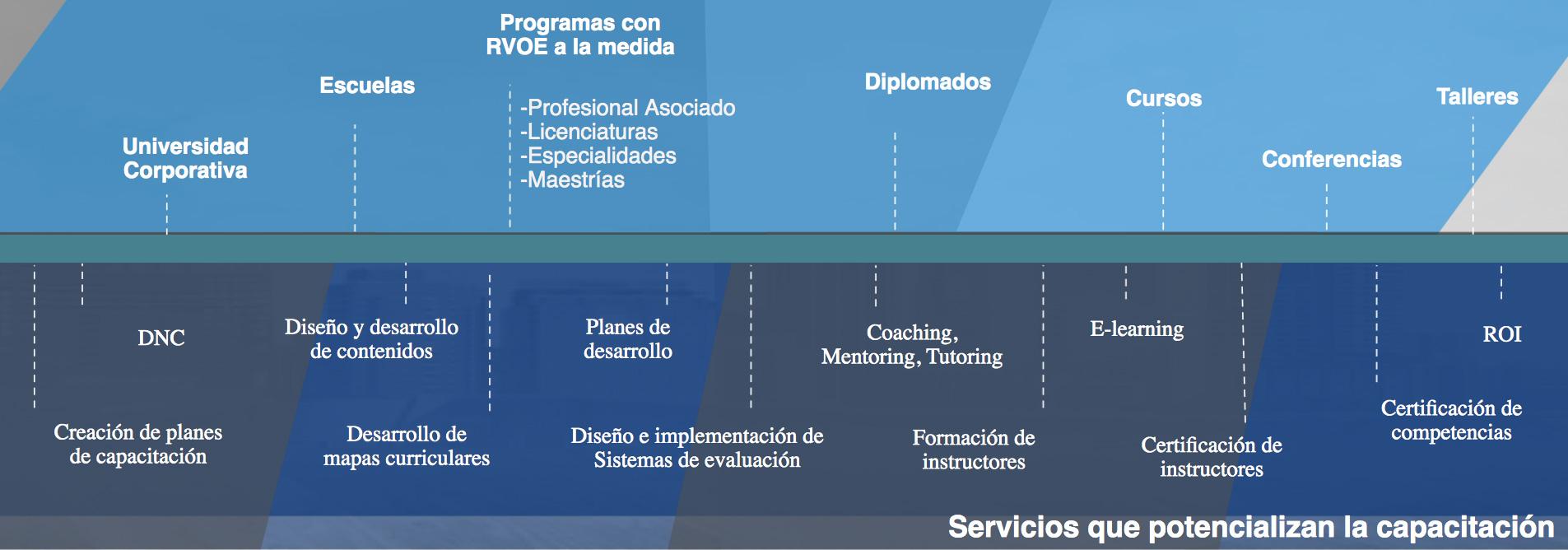 Servicios Educación Corporativa