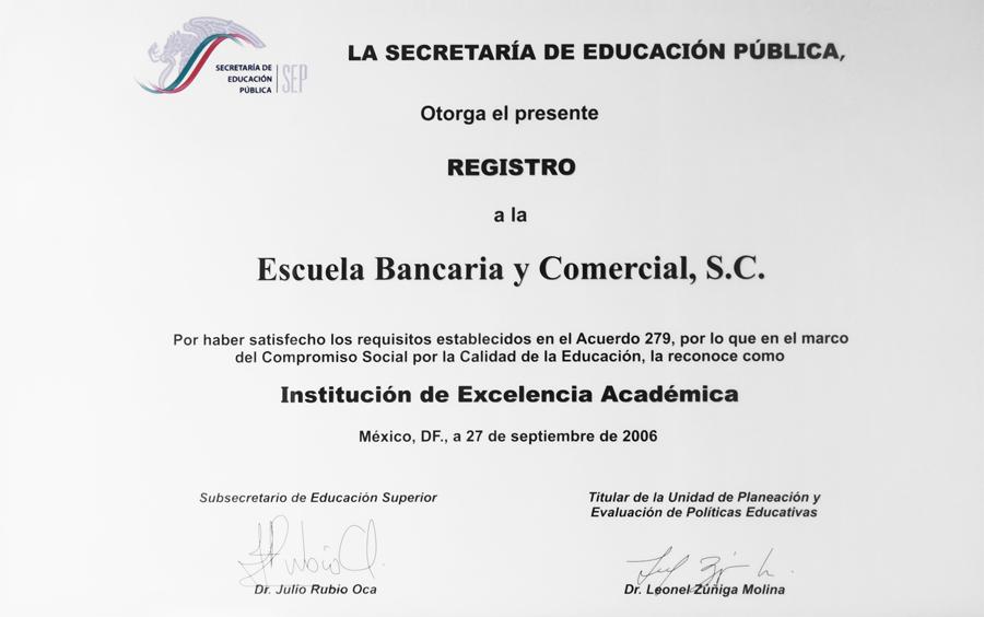 Excelencia Academica